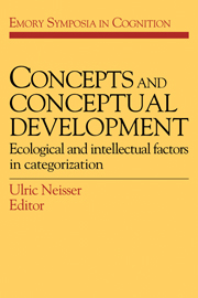 Concepts and Conceptual Development