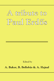 A Tribute to Paul Erdos