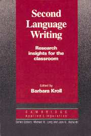 Second Language Writing (Cambridge Applied Linguistics)