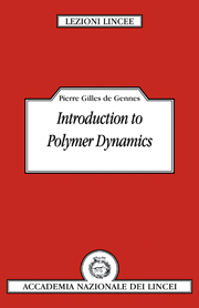 Introduction to Polymer Dynamics