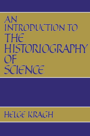 An Introduction to the Historiography of Science