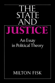 The State and Justice