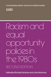 Racism and Equal Opportunity Policies in the 1980s