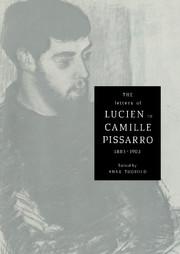 The Letters of Lucien to Camille Pissarro, 1883–1903