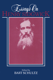 Essays on Henry Sidgwick