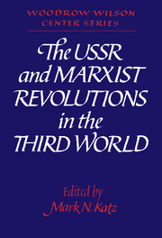 The USSR and Marxist Revolutions in the Third World