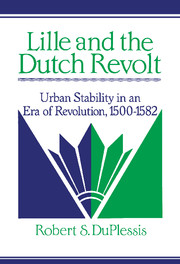 Lille and the Dutch Revolt