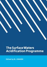 The Surface Waters Acidification Programme