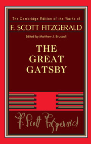 F. Scott Fitzgerald: The Great Gatsby