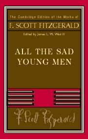 Fitzgerald: <I>All The Sad Young Men</I>
