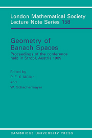 Geometry of Banach Spaces