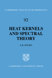 Heat Kernels and Spectral Theory