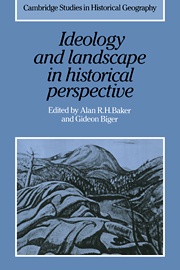 Ideology and Landscape in Historical Perspective