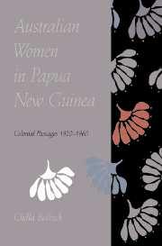Australian women papua new guinea colonial passages