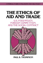 The Ethics of Aid and Trade