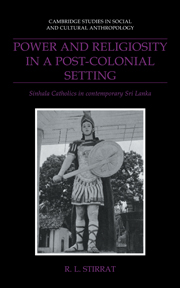 Power and Religiosity in a Post-Colonial Setting