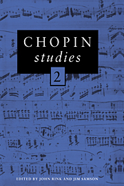 Chopin Studies 2