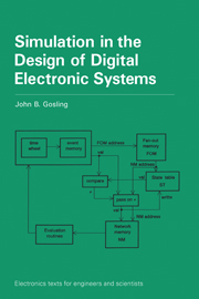 Simulation in the Design of Digital Electronic Systems