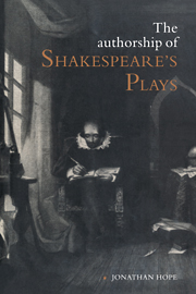 The Authorship of Shakespeare's Plays