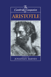 The Cambridge Companion to Aristotle