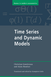 Time Series and Dynamic Models