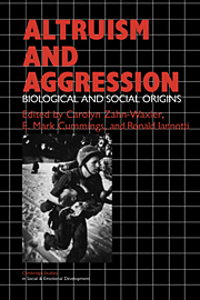Altruism and Aggression