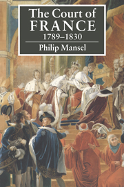 The Court of France 1789–1830