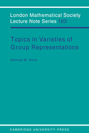 Topics in Varieties of Group Representations