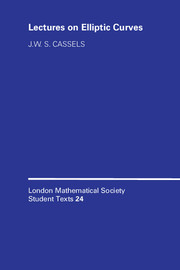 LMSST: 24 Lectures on Elliptic Curves