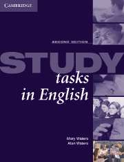Study Tasks in English