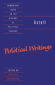 Astell: Political Writings