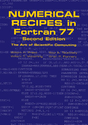Numerical Recipes in FORTRAN 77