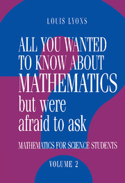 All You Wanted to Know about Mathematics but Were Afraid to Ask