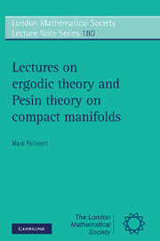 Lectures on Ergodic Theory and Pesin Theory on Compact Manifolds