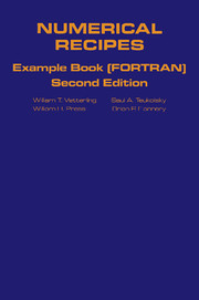 Numerical Recipes in FORTRAN Example Book