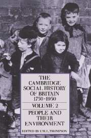 The Cambridge Social History of Britain, 1750–1950