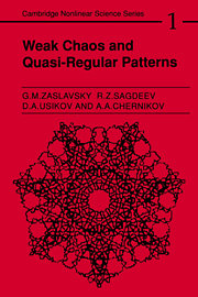 Weak Chaos and Quasi-Regular Patterns