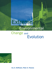 Extreme Environmental Change and Evolution