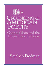 The Grounding of American Poetry