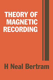 Theory of Magnetic Recording