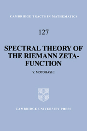 Spectral Theory of the Riemann Zeta-Function
