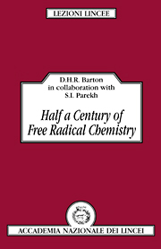 Half a Century of Free Radical Chemistry
