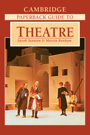 The Cambridge Paperback Guide to Theatre