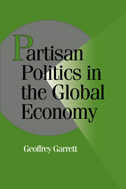 Partisan Politics in the Global Economy