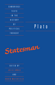 Plato: The Statesman
