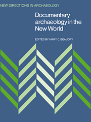 Documentary Archaeology in the New World