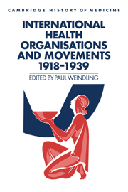 International Health Organisations and Movements, 1918–1939