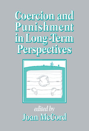 Coercion and Punishment in Long-Term Perspectives