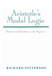 Aristotle's Modal Logic