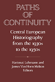 Paths of Continuity